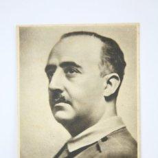 Postales: TARJETA POSTAL ORIGINAL - GENERALISIMO FRANCISCO FRANCO - VICTOR. Lote 136476048