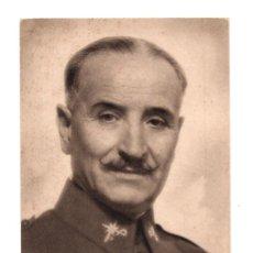 Postales: GENERAL QUEIPO DE LLANO POR JALON ANGEL. ED. ARTE. . Lote 138096622
