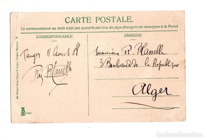 Postales: TÁNGER EMBARQUEMENT DE BESTIAUX. NAHON&LASRY. - Foto 2 - 205179058