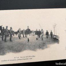 Postales: POSTAL DE LA ACADEMIA DE INFANTERIA GABINETE FOTOGRAFICO 1911 - 46 - REVISTA DE S.M. EL REY - 5188 4. Lote 138657590