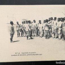 Postales: TOLEDO - POSTAL DE LA ACADEMIA DE INFANTERIA GABINETE FOTOGRAFICO 1911 - 38 - IMPOSICION DE PREMIOS . Lote 138658458