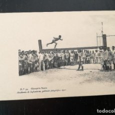 Postales: TOLEDO - POSTAL DE LA ACADEMIA DE INFANTERIA GABINETE FOTOGRAFICO 1911 - 34 - GIMNASIA SUECA - 5188 . Lote 138658874