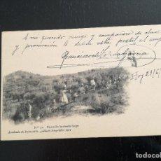 Postales: TOLEDO - POSTAL DE LA ACADEMIA DE INFANTERIA GABINETE FOTOGRAFICO 1911 - 31 - GUERRILLA HACIENDO FUE. Lote 138659186