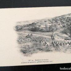Postales: TOLEDO - POSTAL DE LA ACADEMIA DE INFANTERIA GABINETE FOTOGRAFICO 1911 - 29 - SECCIONES EN RESERVA -. Lote 138659418
