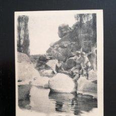 Postales: TOLEDO - POSTAL DE LA ACADEMIA DE INFANTERIA GABINETE FOTOGRAFICO 1911 - 27 - INFORMANDOSE DE UN GUA. Lote 138659694