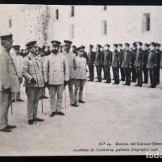 Postales: TOLEDO - POSTAL DE LA ACADEMIA DE INFANTERIA GABINETE FOTOGRAFICO 1912 - 25 - REVISTA DEL CORONEL DI. Lote 138873826