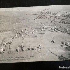 Postales: ACADEMIA DE INFANTERIA - 1912 - Nº 39 - CONSTRUCCIÓN DE UN REDUCTO - 4ª COMPAÑÍA - DEDICADA POR MANU. Lote 138906646
