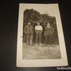 Postales: GUADALAJARA GUERRA CIVIL GRUPO DE MILITARES BANDO NACIONAL POSTAL FOTOGRAFICA. Lote 139284646