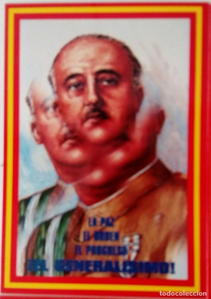 Postales: 14 postales. Franco, José Antonio, Falange, Legión, Guardia Civil, Escudo Nacional, Bandera España.. - Foto 4 - 139503686