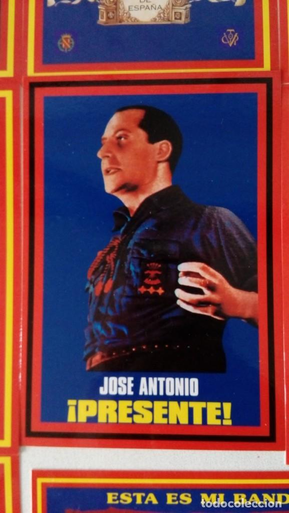 Postales: 14 postales. Franco, José Antonio, Falange, Legión, Guardia Civil, Escudo Nacional, Bandera España.. - Foto 9 - 139503686