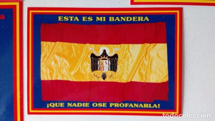 Postales: 14 postales. Franco, José Antonio, Falange, Legión, Guardia Civil, Escudo Nacional, Bandera España.. - Foto 13 - 139503686