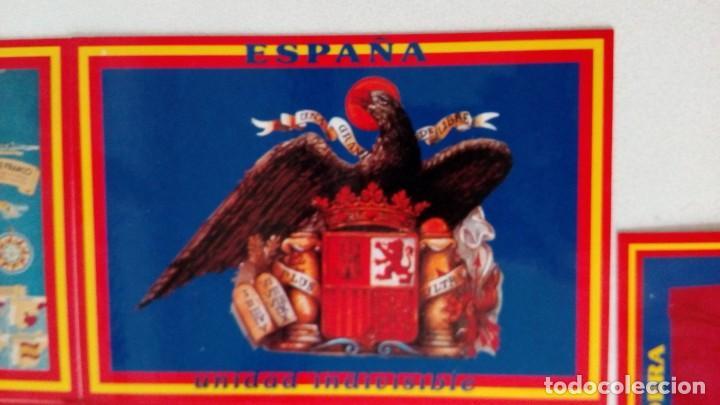 Postales: 14 postales. Franco, José Antonio, Falange, Legión, Guardia Civil, Escudo Nacional, Bandera España.. - Foto 14 - 139503686