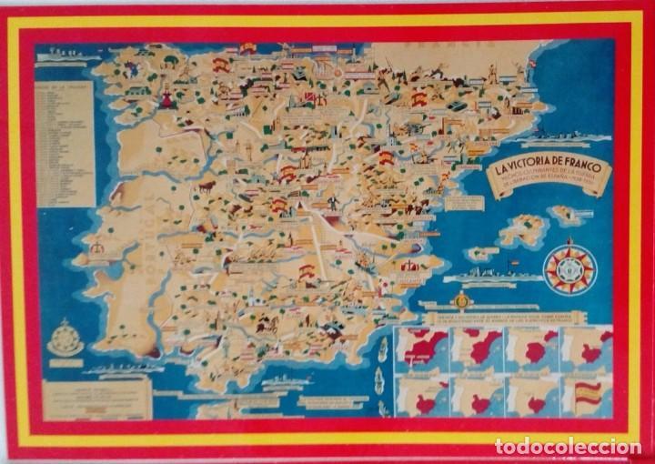 Postales: 14 postales. Franco, José Antonio, Falange, Legión, Guardia Civil, Escudo Nacional, Bandera España.. - Foto 15 - 139503686