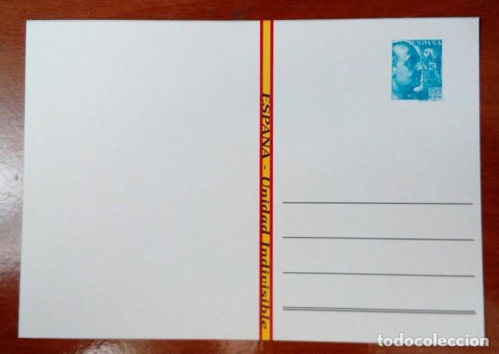 Postales: 14 postales. Franco, José Antonio, Falange, Legión, Guardia Civil, Escudo Nacional, Bandera España.. - Foto 16 - 139503686