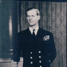 Postales: POSTAL ADMIRAL OF THE FLEET - H R H THE DUKE OF EDINBURGH - DUQUE DE EDIMBURGO - RAPHAEL TUCK. Lote 139885730