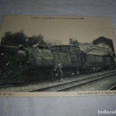 Postales: OVIEDO.CIUDAD MARTIR DEL 5 AL 14 DE OCTUBRE 1934.TREN BLINDADO DEL F.C.VASCO ASTURIANO.SERIE III.-Nº. Lote 140504786