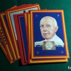 Postales: LOTE 16 POSTALES ESPAÑA , FRANCO Y FALANGE VER FOTOS. Lote 140816262