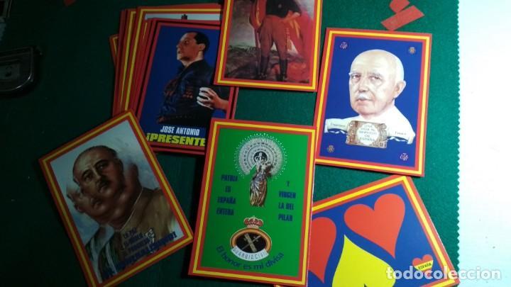 Postales: LOTE 16 POSTALES ESPAÑA , FRANCO Y FALANGE VER FOTOS - Foto 2 - 140816262
