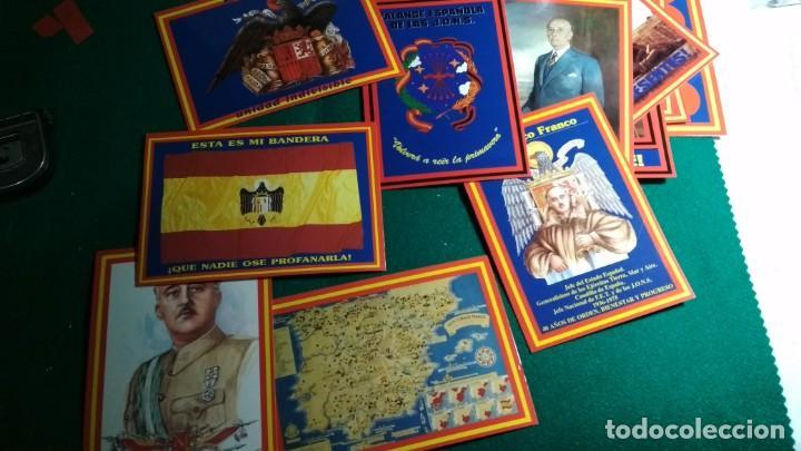 Postales: LOTE 16 POSTALES ESPAÑA , FRANCO Y FALANGE VER FOTOS - Foto 4 - 140816262