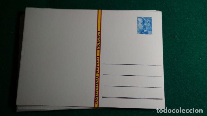 Postales: LOTE 16 POSTALES ESPAÑA , FRANCO Y FALANGE VER FOTOS - Foto 5 - 140816262