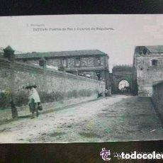 Postales: POSTAL DE TETUAN : CUARTEL DE REGULARES . ESCRITA POR SOLDADO GUERRA DE AFRICA EN 1922.. Lote 142093106