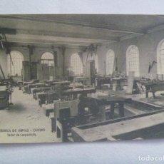 Postales: POSTAL FABRICA DE ARMAS DE OVIEDO : TALLER DE CARPINTERIA. PRINCIPIOS DE SIGLO. Lote 257323780