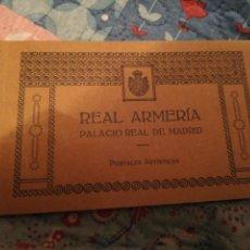Postales: POSTALES REAL ARMERÍA PALACIO REAL MADRID . Lote 143320538