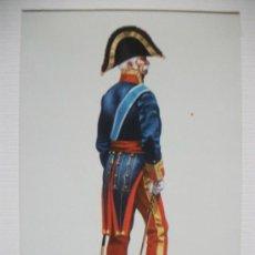 Postales: POSTAL DE TENIENTE GENERAL EN UNIFORME DE GRAN GALA, 1815 . DE DELFIN SALAS. Lote 143727626