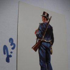 Postales: POSTAL ANTIGUOS UNIFORMES MILITARES - ENVIO INCLUIDO A ESPAÑA. Lote 145288426