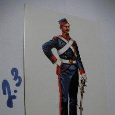 Postales: POSTAL ANTIGUOS UNIFORMES MILITARES - ENVIO INCLUIDO A ESPAÑA. Lote 145288466