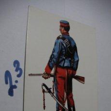 Postales: POSTAL ANTIGUOS UNIFORMES MILITARES - ENVIO INCLUIDO A ESPAÑA . Lote 145290386