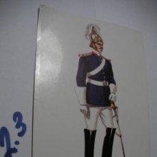 Postales: POSTAL ANTIGUOS UNIFORMES MILITARES - ENVIO INCLUIDO A ESPAÑA . Lote 145290630