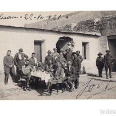 Postales: GUERRA DEL RIF. POSTAL FOTOGRÁFICA.- TETUAN 1921. PRIMERA FOTOGRAFIA HECHA AL ENTRAR. DETRAS CASA . Lote 146198694