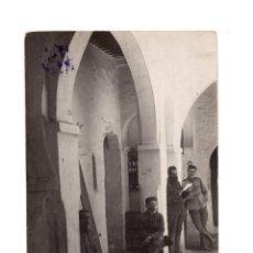 Postales: GUERRA DEL RIF. POSTAL FOTOGRÁFICA.- XAÜEN. PATIO CENTRAL. 1922. Lote 146199238