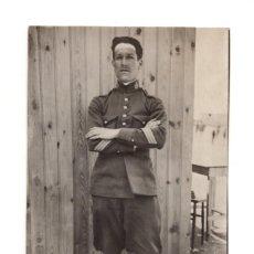 Postales: SARGENTO DEL REGIMIENTO VAD-RAS Nº 50. POSTAL FOTOGRÁFICA. 1924. Lote 146221078