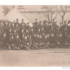 Postales: GUERRA DEL RIF. POSTAL FOTOGRÁFICA.- CAMPAMENTO DEL AMIR 1916. Lote 146224218