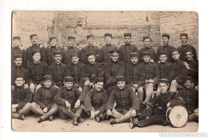 REGIMIENTO VAD-RAS Nº 50. POSTAL FOTOGRÁFICA. 1919 (Postales - Postales Temáticas - Militares)