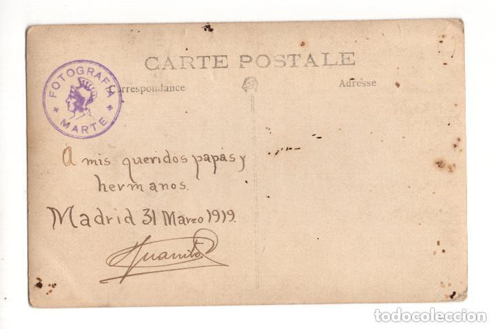Postales: REGIMIENTO VAD-RAS Nº 50. POSTAL FOTOGRÁFICA. 1919 - Foto 2 - 146224402