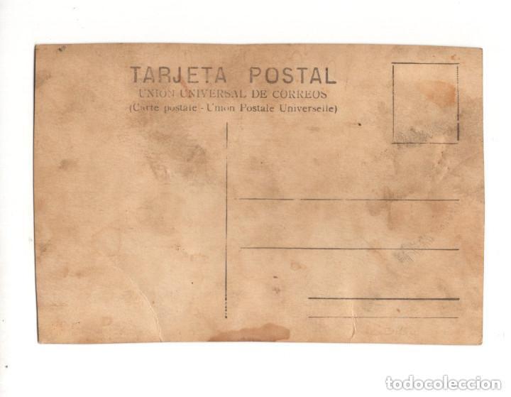 Postales: CURIOSA POSTAL SOLDADOS CON CARTEL 132 DIAS. POSTAL FOTOGRÁFICA. - Foto 2 - 146224562