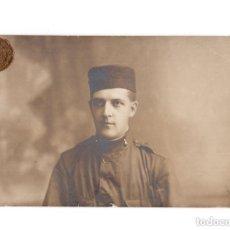 Postales: MELILLA.- 1915. MILITAR CUERPO DE ARTILLERÍA. POSTAL FOTOGRÁFICA. FOTO CHACEL II. MELILLA. Lote 146225846