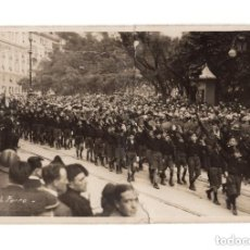 Postales: BALILLA ITALIANO A GENOVA 1926. POSTAL FOTOGRÁFICA. ARREGLADA. Lote 146226134
