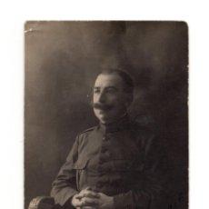 Postales: POSTAL FOTOGRÁFICA.- MILITAR 1916. A.G. DE CASTRO. LARACHE. Lote 146227082