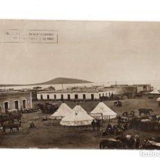 Postales: NADOR EL DÍA DE SU OCUPACIÓN, 17 SEPTIEMBRE DE 1921. VISTA PARCIAL. AL FONDO ATALAYÓN Y MAR CHICA.. Lote 146230930