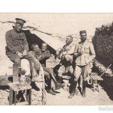 Postales: GUERRA DEL RIF. POSTAL FOTOGRÁFICA.- TIKERMIN. MELILLA.1922.. Lote 146233646