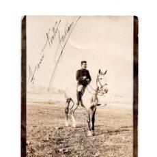 Postales: GUERRA DEL RIF. POSTAL FOTOGRÁFICA.- CAMPAMENTO DE JUANA 1910. Lote 147061854