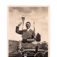 Postales: POSTAL FOTOGRÁFICA.- ADOLF HITLER Y RUDOLF HEES. FOTO ECHTE. Lote 147061950