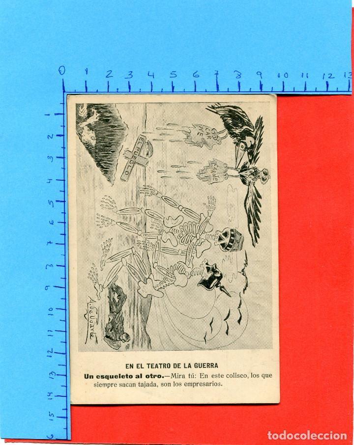 EL TEATRO DE LA GUERRA ( CONFLICTO EUROPEO / COLECC. A. UGARTE ) -- NO CIRCULADA // ( EXTR2019 ) (Postales - Postales Temáticas - Militares)
