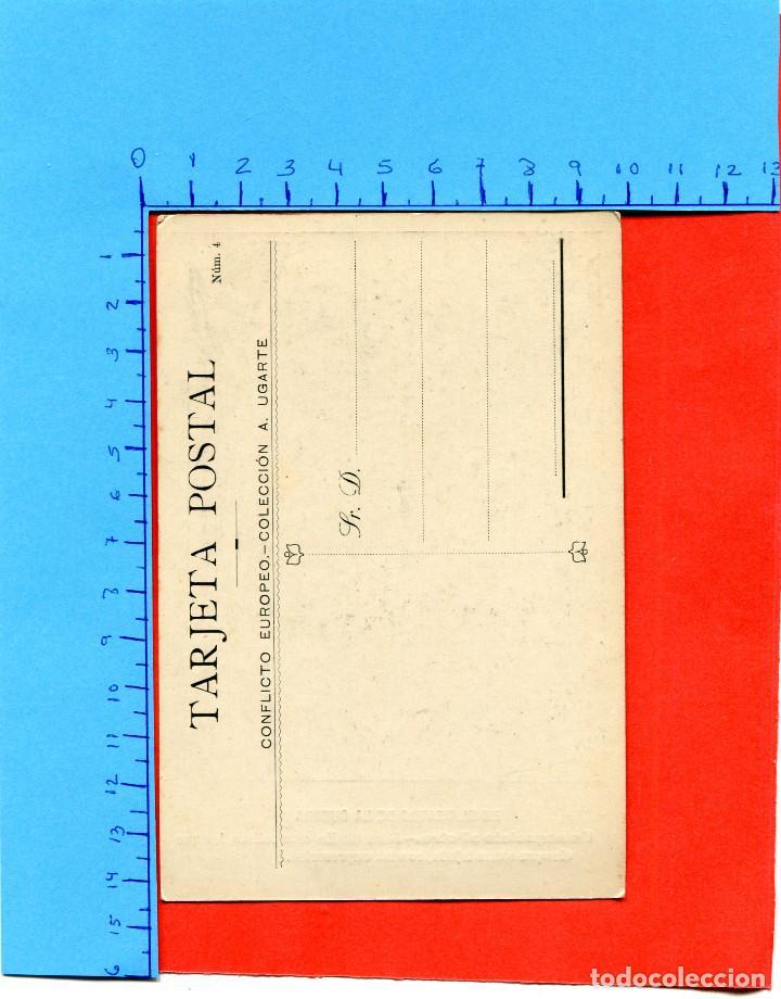 Postales: EL TEATRO DE LA GUERRA ( CONFLICTO EUROPEO / COLECC. A. UGARTE ) -- NO CIRCULADA // ( EXTR2019 ) - Foto 2 - 147632802