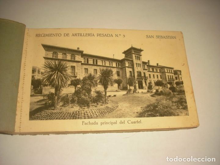 Postales: REGIMIENTO DE ARTILLERIA PESADA Nº 3 , SAN SEBASTIAN . 24 POSTALES. - Foto 2 - 147733758