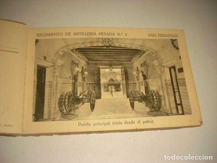 Postales: REGIMIENTO DE ARTILLERIA PESADA Nº 3 , SAN SEBASTIAN . 24 POSTALES. - Foto 3 - 147733758